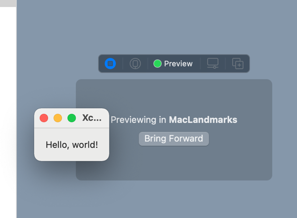 Swiftui macos preview