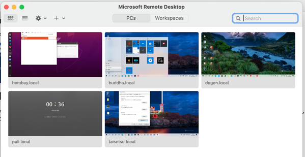 Mac remotepc list