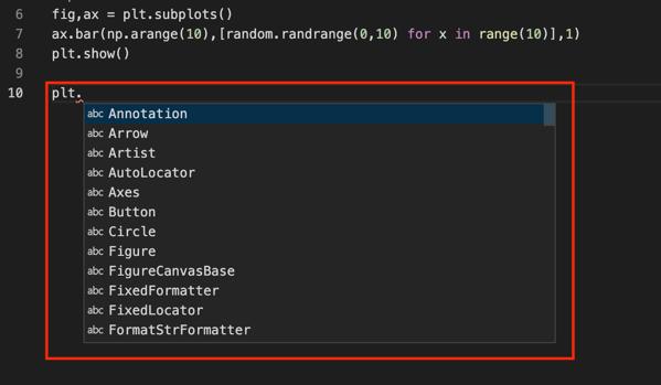 vscode_python_suggest