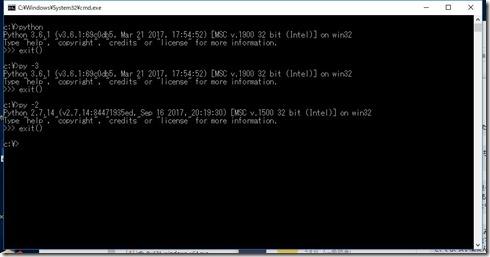 python_run_multi_version
